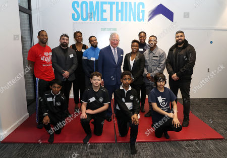 Editorial photo of Opening of the Prince's Trust New South London Centre, UK - 17 Dec 2019