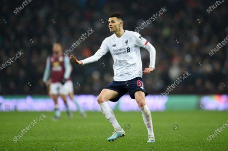 Editorial picture of Aston Villa v Liverpool, Carabao Cup, Quarter Final, Villa Park, Birmingham, UK - 17 Dec 2019