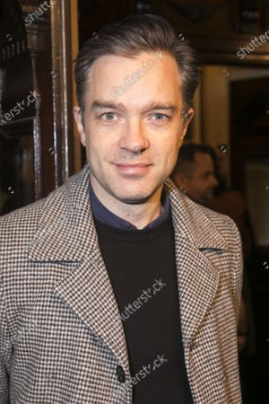 Editorial photo of 'Curtains The Musical' arrivals, Press Night, London, UK - 17 Dec 2019