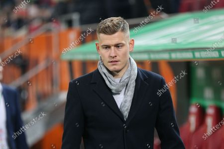 Alfred Finnbogason #27 (FC Augsburg), FC Augsburg vs. Fortuna Duesseldorf, Football, 1.Bundesliga, 17.12.2019, DFL REGULATIONS PROHIBIT ANY USE OF PHOTOGRAPHS AS IMAGE SEQUENCES AND/OR QUASI-VIDEO