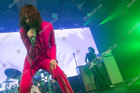 Primal Scream - Bobby Gillespie and Simone Butler
