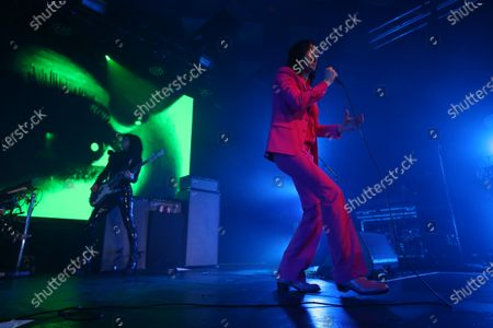 Stock Image of Primal Scream - Simone Butler and Bobby Gillespie