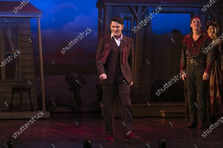 Stock Picture of Samuel Holmes (Christopher Belling) during the curtain call