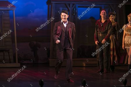 Stock Image of Samuel Holmes (Christopher Belling) during the curtain call