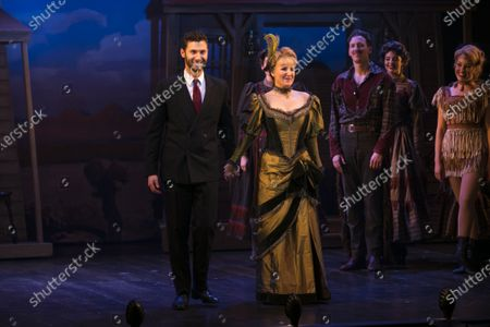Editorial image of 'Curtains The Musical' curtain, Press Night, London, UK - 17 Dec 2019