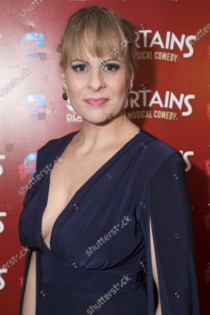 Editorial photo of 'Curtains The Musical' party, Press Night, London, UK - 17 Dec 2019
