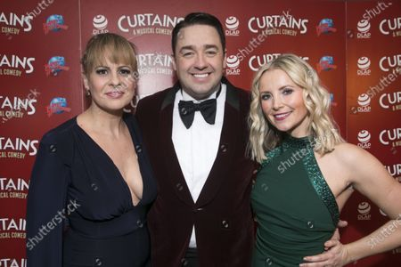 Stock Picture of Rebecca Lock (Carmen), Jason Manford (Cioffi) and Carley Stenson (Georgia Hendriks)