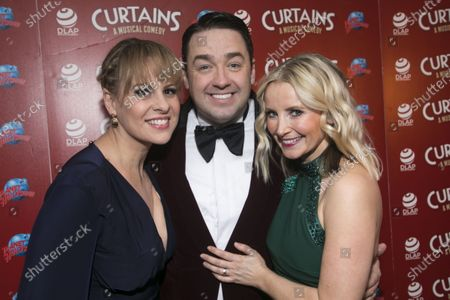Stock Photo of Rebecca Lock (Carmen), Jason Manford (Cioffi) and Carley Stenson (Georgia Hendriks)