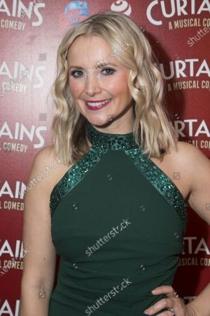 Editorial image of 'Curtains The Musical' party, Press Night, London, UK - 17 Dec 2019