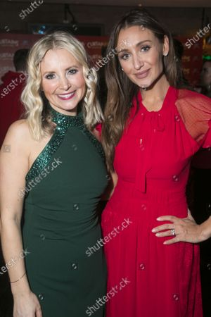 Stock Picture of Carley Stenson (Georgia Hendriks) and Catherine Tyldesley
