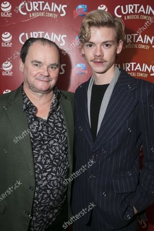Mark Sangster (Sidney) and Thomas Brodie-Sangster