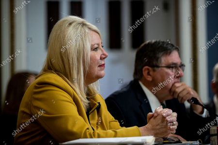 United States Representative Debbie Lesko (Republican of Arizona) speaks, to consider H. Res. 755 'Impeaching Donald John Trump, President of the United States, for high crimes and misdemeanors'