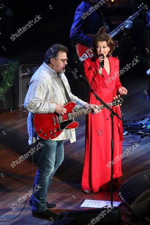 Editorial picture of Amy Grant and Vince Gill in Concert - , TN, Nashville, USA - 17 Dec 2019