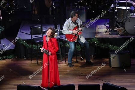 Editorial photo of Amy Grant and Vince Gill in Concert - , TN, Nashville, USA - 17 Dec 2019