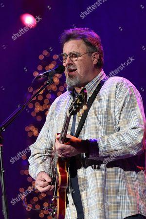 Vince Gill performs at Christmas at the Ryman at Ryman Auditorium,, in Nashville, Tenn