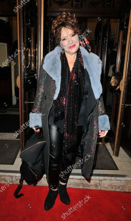 Editorial picture of 'Curtains The Musical', Arrivals, Wyndham's Theatre, London, UK - 17 Dec 2019