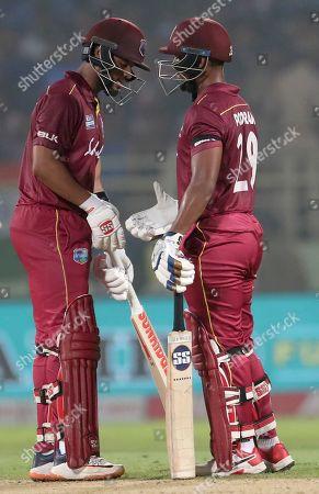 Editorial image of West Indies Cricket, Visakhapatnam, India - 18 Dec 2019