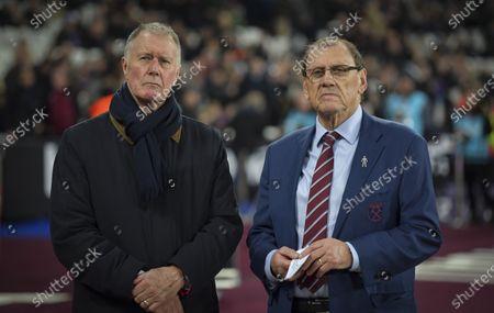 Geoff Hurst and Brian Deer ex footballers for West Ham United