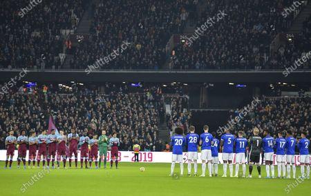 Editorial picture of West Ham United v Leicester City, Premier League, Football, London Stadium, London, UK - 28 Dec 2019