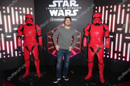 Editorial image of 'Star Wars: The Rise of Skywalker' film premiere, Paris, France - 17 Dec 2019