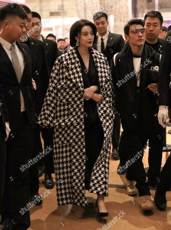 Editorial image of Fan Bingbing put and about, Beijing, China - 18 Dec 2019