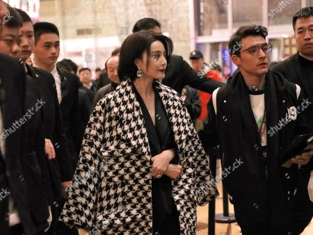 Editorial picture of Fan Bingbing put and about, Beijing, China - 18 Dec 2019