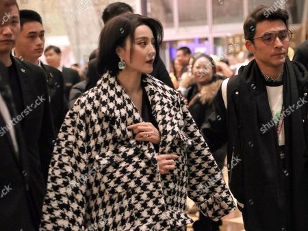 Editorial photo of Fan Bingbing put and about, Beijing, China - 18 Dec 2019