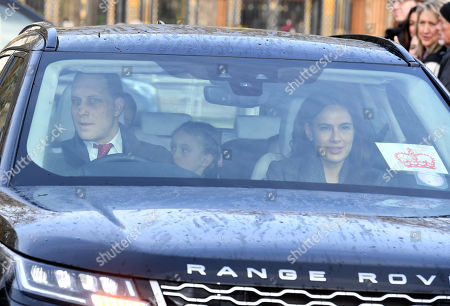 Editorial photo of Royal family Christmas Lunch at Buckingham Palace, London, UK - 18 Dec 2019