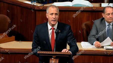 Rep. Sean Patrick Maloney, D-N.Y., speaks as the House of Representatives debates the articles of impeachment against President Donald Trump at the Capitol in Washington