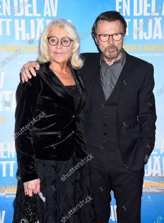Lena Kallersjo and Bjorn Ulvaeus