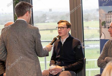 Trainer Joseph O'Brien with Thom Malone