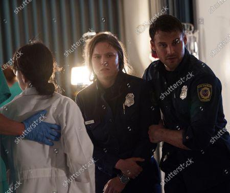 Ronda Rousey as Lena Bosko and Ryan Guzman as Eddie Diaz