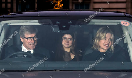 Stock Image of Timothy Taylor with Estella Taylor and Lady Helen Taylor