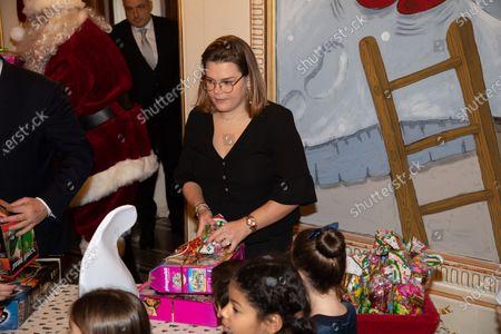 Camille Marie Kelly Gottlieb, Princess Charlene of Monaco, Prince Albert II of Monaco and Louis Ducruet