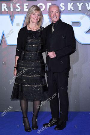 Anthony Daniels and Christine Savage
