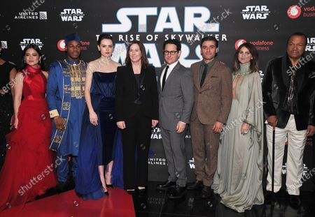 Editorial picture of 'Star Wars: The Rise of Skywalker' film premiere, London, UK - 18 Dec 2019