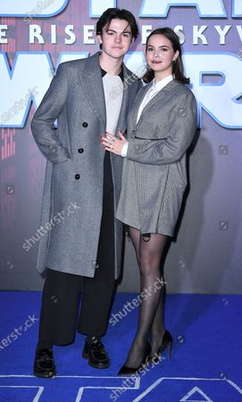 Stock Picture of Blake Richardson and Bailee Madison