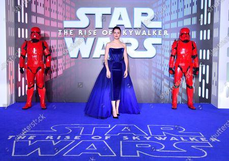 Redaktionelt foto af 'Star Wars: The Rise of Skywalker' film premiere, London, UK - 18 Dec 2019