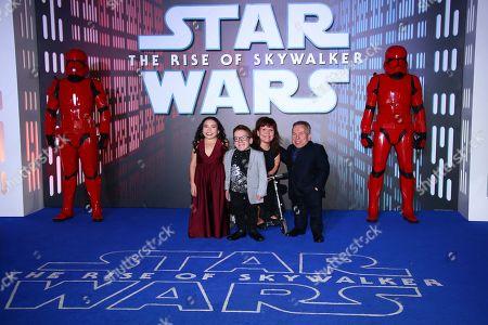 Editorial image of Star Wars: The Rise of Skywalker Premiere, London, United Kingdom - 18 Dec 2019