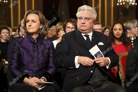 Princess Claire and Prince Laurent in the Royal Palace