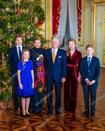 Editorial picture of Belgian Royals attend Christmas Concert, Brussels, Belgium - 18 Dec 2019
