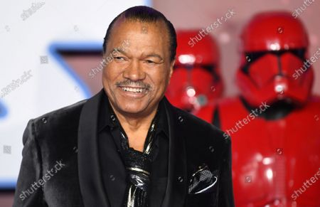 US actor/cast-member Billy Dee Williams attends the European Premiere of 'Star Wars: The Rise of Skywalker' at Leicester Square in London, Britain, 18 December 2019. The film will be release in UK Cinemas on 19 December 2019.