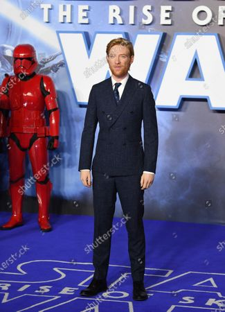 Irish actor/cast-member Domhnall Gleeson attends the European Premiere of 'Star Wars: The Rise of Skywalker' at Leicester Square in London, Britain, 18 December 2019. The film will be release in UK Cinemas on 19 December 2019.