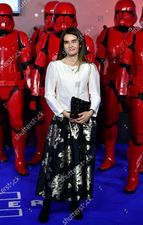 Shirley Henderson attends the European Premiere of 'Star Wars: The Rise of Skywalker' at Leicester Square in London, Britain, 18 December 2019. The film will be release in UK Cinemas on 19 December 2019.