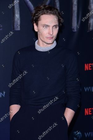 Editorial picture of 'The Witcher' TV show, season one premiere, Warsaw, Poland - 18 Dec 2019
