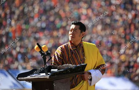 His Majesty King Jigme Khesar Namgyel Wangchuck addressed the Nation from Changlimithang Stadium during the 112th National Day Celebrations.