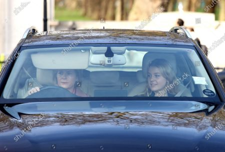Editorial image of Royal family Christmas Lunch at Buckingham Palace, London, UK - 18 Dec 2019