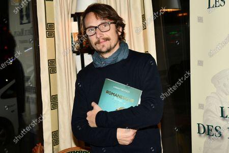 Editorial picture of Lorant Deutsch 'Romanesque, La folle aventure de la langue francaise' book presentation, Paris, France - 18 Dec 2019