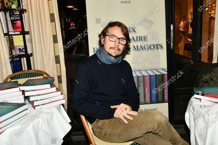 Editorial photo of Lorant Deutsch 'Romanesque, La folle aventure de la langue francaise' book presentation, Paris, France - 18 Dec 2019