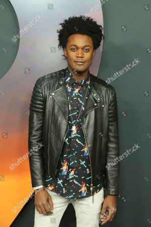 "Stock Photo of Echo Kellum arrives at the Los Angeles premiere of ""1917"" at the TCL Chinese Theatre on"